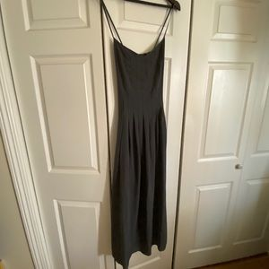 Banana Republic Fit & Flare Gray Dress
